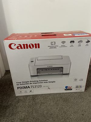 Canon Pixma TS3120 Printer for Sale in Inman, SC