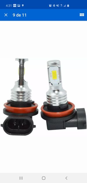 H8 H9 H11 LED Headlight Super Bright Bulbs Kit 4000LM 80W HIGH/LOW Beam 6000K for Sale in Gaithersburg, MD