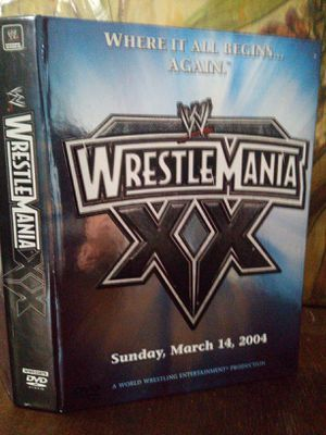 WRESTLEMANIA - XX SUNDAY MARCH 14, 2004 for Sale in Tacoma, WA