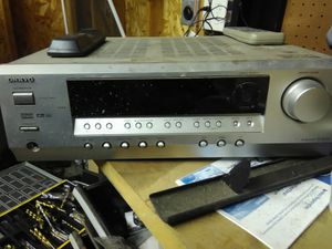 Onkyo receiver for Sale in Madison Heights, MI