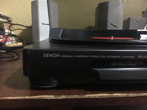 Denon DP-25 turntable record player for Sale in San Francisco, CA