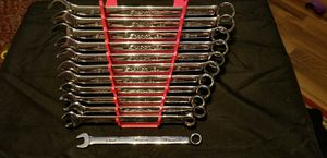 Like NEW Snap-on™ 10 thru 21 mm 12-pt FLANK Drive PLUS Wrench Set SOEXM710 12PC for Sale in Harrah, OK
