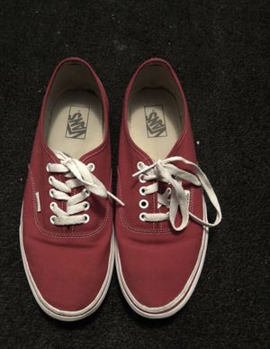 Red Low Top Vans for Sale in Cleveland, OH