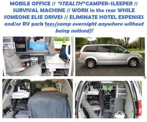 """MOBILE OFFICE // """"STEALTH"""" CAMPER-SLEEPER!! for Sale in Lombard, IL"""