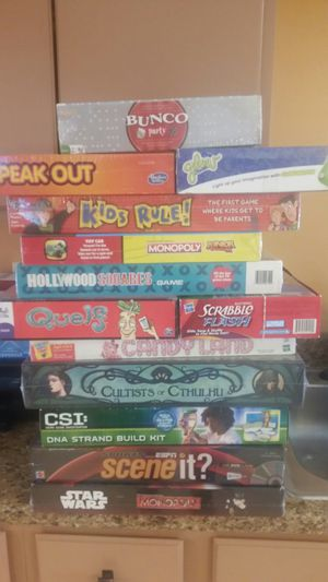 Board game new sealed for Sale in North Providence, RI