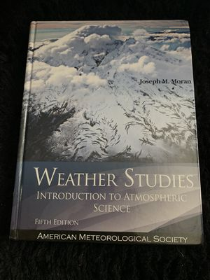 Weather Studies - Introduction to Atmospheric Science (Textbook) for Sale in Los Angeles, CA