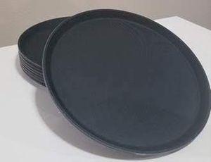 """Black Round Waiter Trays 14"""" for Sale in Bellevue, WA"""