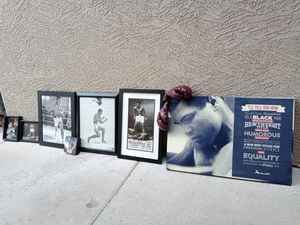 Muhammad Ali wall of fame collection for Sale in Guadalupe, AZ