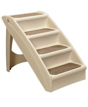PetSafe Solvit PupSTEP Plus Pet Stairs, Foldable Steps for Dogs and Cats, Best for Small to Medium Pets for Sale in Peoria, AZ