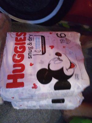 Size 6 Huggies for Sale in San Jose, CA