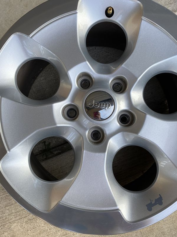2015 Jeep Wrangler Original Wheels (Set of 4)