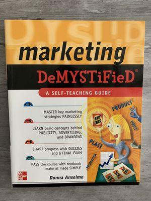Marketing Demystified for Sale in Selma, CA