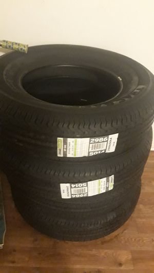 $220 , 4 NEW Tracgard trailer tires ST205 72R15 for Sale in Oceanside, CA