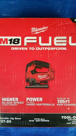 $180. Milwaukee M18 FUEL Brushless Cordless Jig Saw for Sale in Evergreen,  CO