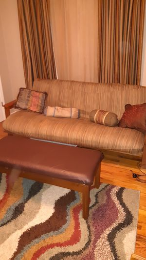 Solid Wood Futon for Sale in Adger, AL