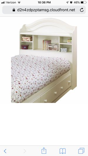 Twin bed bookcase headboard ONLY for Sale in Brooks, OR