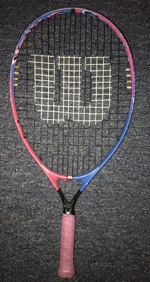 Wilson Pink and Blue Tennis Racket for Sale in Akron, OH