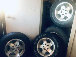 02 Jeep Wrangler Sahara wheels for Sale in Mesa, AZ