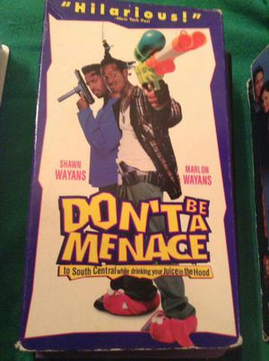 Don't Be A Menace 2 South Central While Drinking Your Juice In The Hood [VHS] for Sale in US