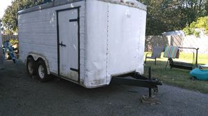 Pace American dual axel enclosed cargo trailer for Sale in Garfield Heights, OH