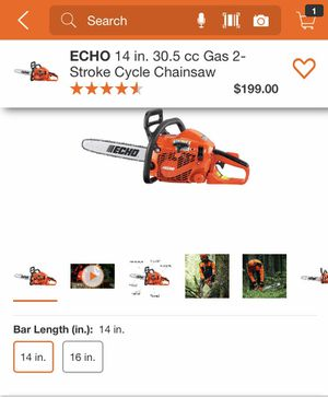 Echo chainsaw NEW for Sale in Temecula, CA