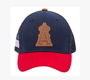 LA anaheim angels baseball LEATHER LOGO hat / cap - NEW for Sale in Santa Ana, CA