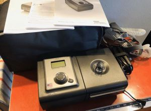 Philips Respironics System One CPAP machine includes water chamber, tubing, Storage Case/Bag for Sale in Rancho Cucamonga, CA