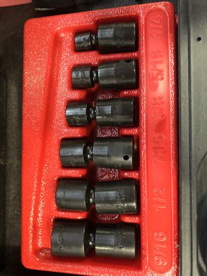 """Snap on 1/4"""" Dr SAE swivels 1/4-9/16 for Sale in Medina, OH"""
