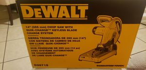 "Sierra de 14"" Dewalt for Sale in Los Angeles, CA"
