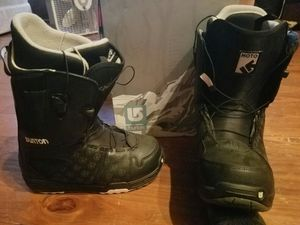 Available 2019 Brand new Burton stiletto binding size 6-8 shoe size 9 women's snowboarding boots for Sale in Pittsburgh, PA