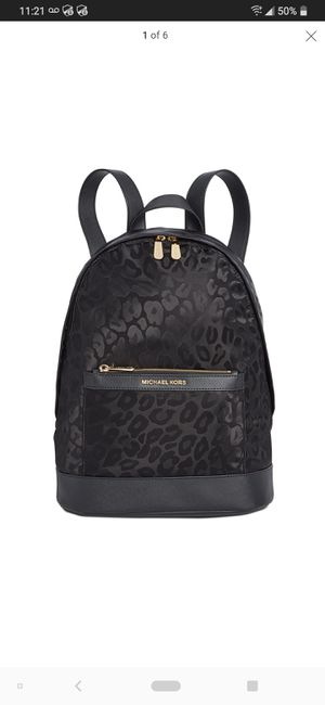 Michael Kors Leopard backpack. for Sale in San Diego, CA