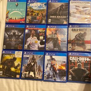 PS4 Video Game Collection for Sale in Fort McDowell, AZ