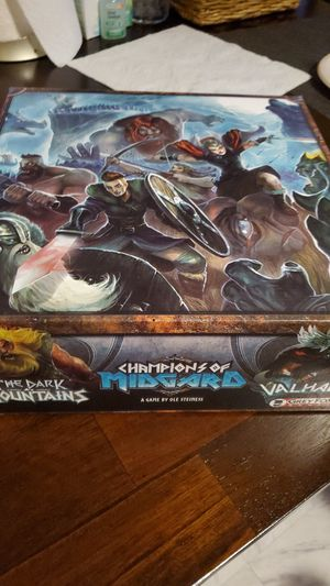 Champions of Midgard Jarl Edition board game combo for Sale in Stamford, CT