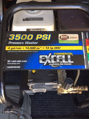 Honda excell 3500 psi pressure washer. for Sale in Chicago, IL