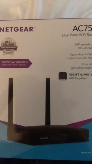 Netgear dualband wifi router for Sale in PT CHARLOTTE, FL