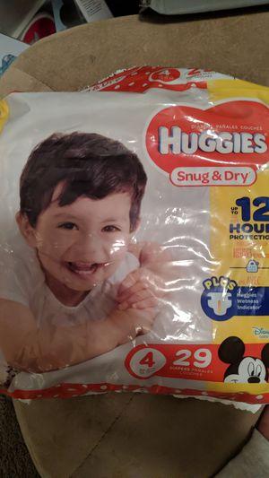 Huggies size 4 for Sale in Las Vegas, NV