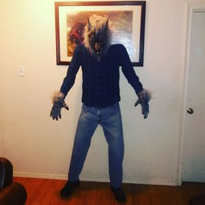 Life Size Werewolf Halloween Prop for Sale in Irving, TX