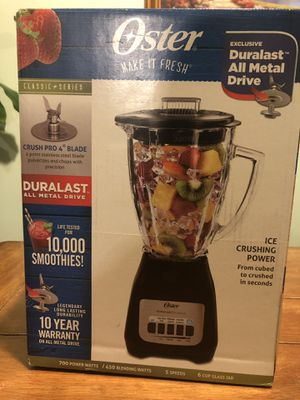 New Oster blender for Sale in Riverdale, GA