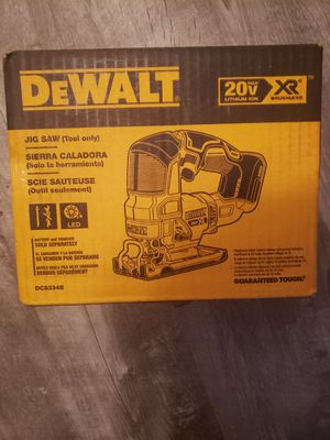 Dewalt 20v brushless jigsaw new for Sale in Auburn, WA