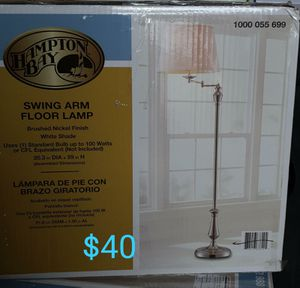 Swing arm floor lamp for Sale in Bakersfield, CA