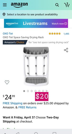 OXO Tot drying rack for Sale in Chino, CA