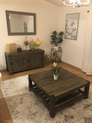Canyon Coffee Table & TV Stand!! Deal!! for Sale in San Jose, CA