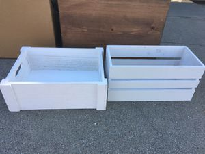Free wood boxes/containers for Sale in Dublin, CA