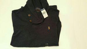 Polo Ralph Lauren Estate Rib Navy Cowl Neck Men's Sweater Sz Small for Sale in Arlington, VA