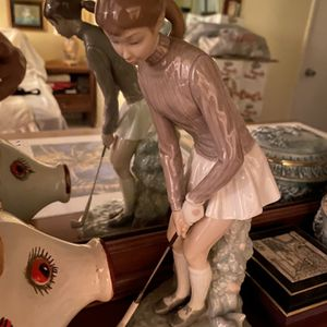 Lladro Golfer Girl for Sale in Hillsboro Beach, FL