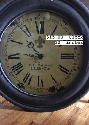 Big Rustic Clock for Sale in Midland, TX