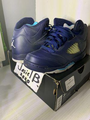 Jordan retro 5s size 3 for Sale in Dallas, TX