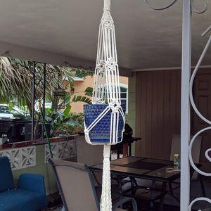 Macrame hanging planter for Sale in Orlando, FL