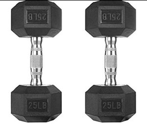 25LB weight set for Sale in Edgewater, NJ