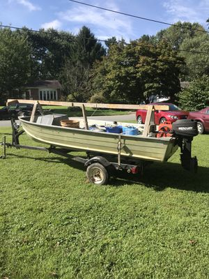 Star Craft aluminum 14 foot boat for Sale in Colora, MD